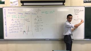 Solving Inequalities w/ Rational & Linear Functions (3 of 3: Combining Functions)