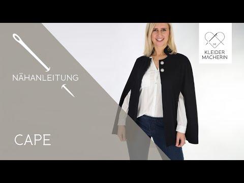 CAPE selber nähen - DIY Anleitung für Anfänger