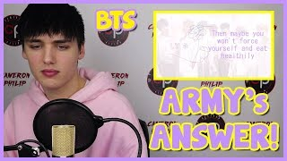 Video [BTS] ARMY's ANSWER TO PIED PIPER (ENGLISH COVER) REACTION [TRUTH] download MP3, 3GP, MP4, WEBM, AVI, FLV Agustus 2018