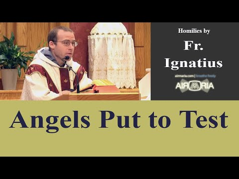 Sep 29 - Homily: Angels Put to Test