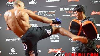 UFC Fortaleza: Entrenamiento público de Edson Barboza - UFC Fight Night 106