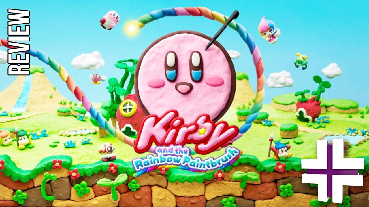 kirby and the rainbow paintbrush review