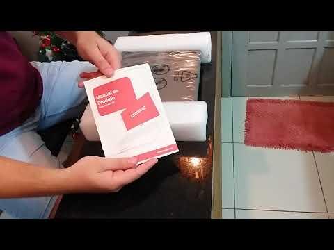 Unboxing Notebook COMPAQ - Presario CQ23