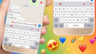 Teclado De IPhone En Android En Español + Emojis