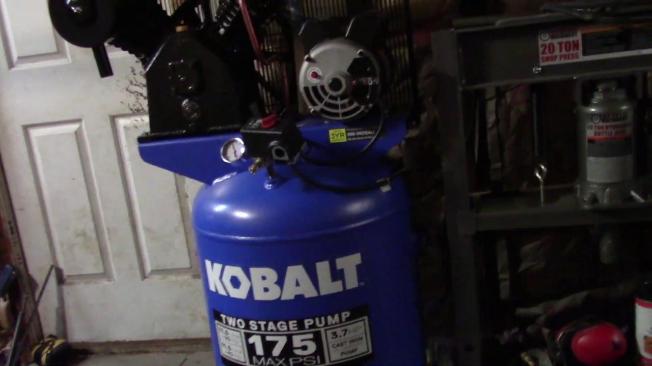 Kobalt 60 Gallon Compressor