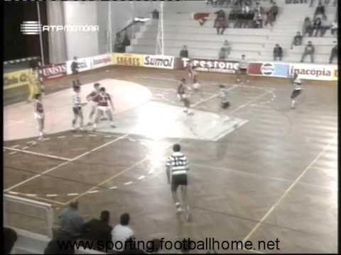 Andebol :: Benfica - 24 x Sporting - 24 de 1989/1990 - Supertaça - 1 Jogo