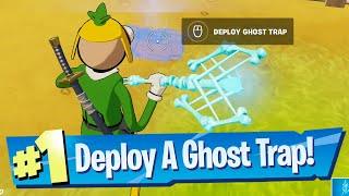 Deploy a Ghost Tŗap Location - Fortnite
