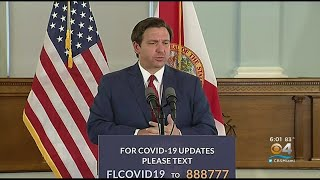 Gov. Ron DeSantis Says Schools Will Remain Closed Until End Of School Year