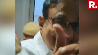 Republic TV Confronts P Chidambaram As He Loses His Remand Hearing, Gets Sent To CBI Custody
