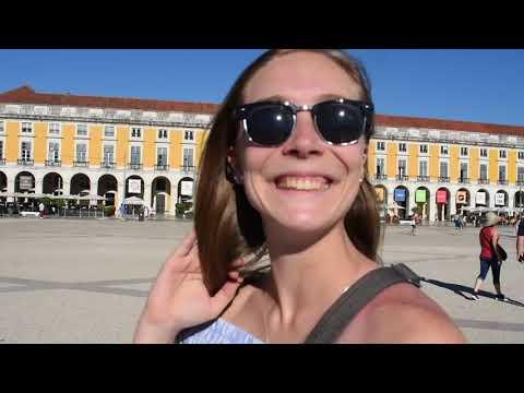 Kara and Jess in Lisbon, Portugal