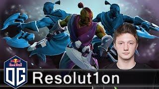 OG.Resolut1on  --VS--  Xcalibur  - Ranked Match - OG Dota 2.