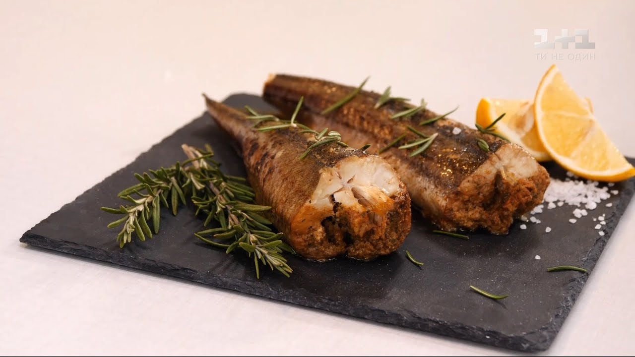 Риба, запечена з горіхами – рецепти Руслана Сенічкіна
