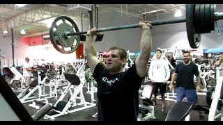 Part 1: Jason channels his anger at Brad to do a sickening one rep ...
