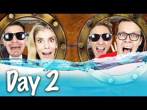 spending-24-hours-straight-in-the-ocean!-surviving-hacker-escape-room-trap-to-reveal-maddie's-secret