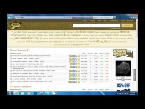 How To Download Items From KickAss Torrents Tutorial #3