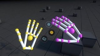 Leap Motion's New Orion Gesture Tracking For VR