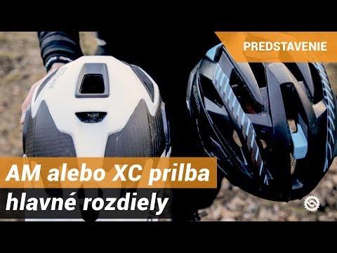 AllMountain alebo XC prilba - hlavné rozdiely