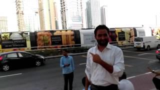 Dubai tram palm Jumeirah