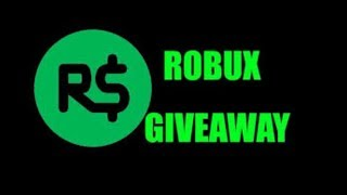 ROBUX GIVEAWAY || TUTORIAL ON HOW TO ENTER IT