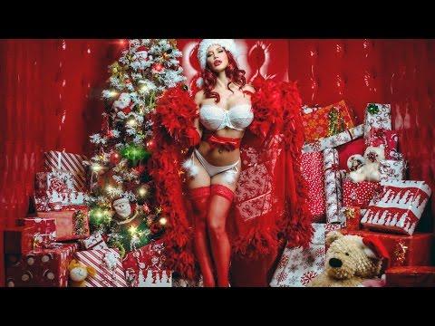 фото сексуальных девушек новогодние с ёлками