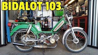 Je vends mon moteur 103 et David kiffe sa bécane !