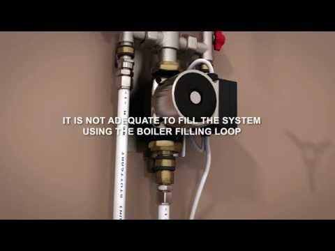 ProWarm™ underfloor heating - pumps and manifolds installation
