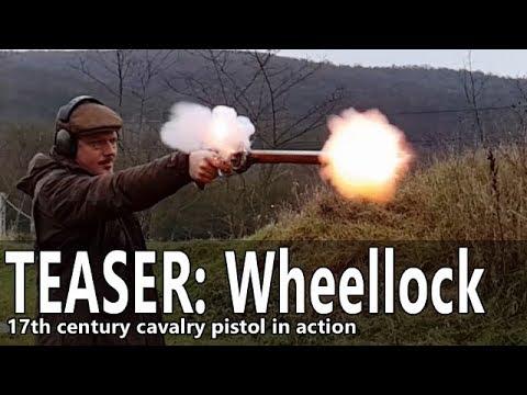 Wheellock pistol range time - TEASER