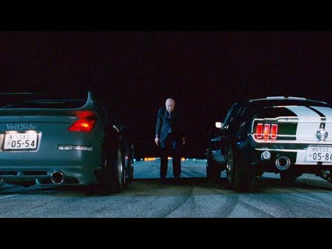 FAST and FURIOUS: TOKYO DRIFT  Final Race Mustang vs 350Z 1080HD