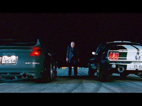 Смотреть видео Fast And Furious Tokyo Drift Final Race Mustang Vs 350z 1080hd онлайн скачать на мобильный