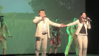 Душевная песня о любви-  Славич и Юлия   концерт в Ижевске