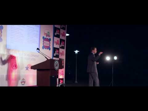 William Avery speaking at The United Nations Young Changemakers Conclave Mumbai 2013
