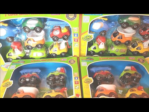 Toy Trucks  - Happy Fleet by TransporToys