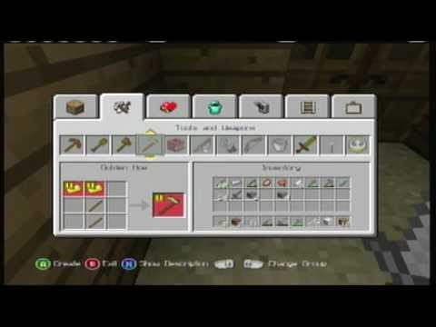 Minecraft | Xbox 360 | Every Item In The Game You Can ...  Minecraft Crafting Ideas Xbox 360