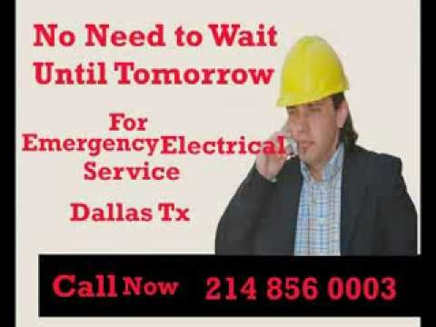 24 Hr Emergency Electrician Dallas Tx | Call 214 856 0003 | Emergency Electrical Service Dallas Tx