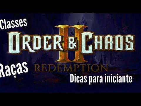 Order & Chaos #Classes E Raças Dicas......