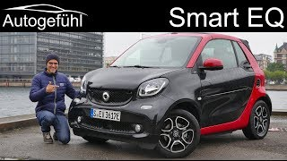 Smart fortwo EQ Cabrio FULL REVIEW with sustainability feature - Autogefühl