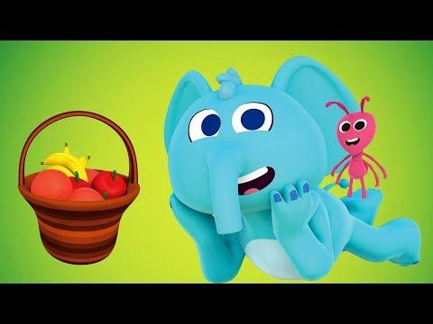 Fui Al Mercado - Las Canciones del Zoo 4 | El Reino Infantil