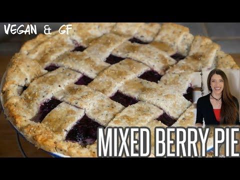 How to Make a Mixed Berry Pie (Vegan & GF) | Artistic Vegan