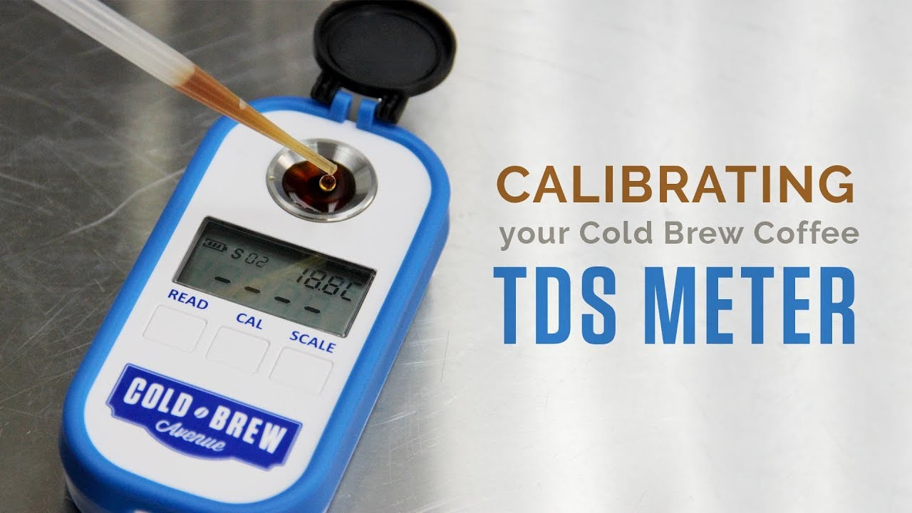 Cold Brew Coffee Refractometer & TDS Meter