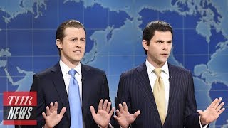 Mikey Day and Alex Moffat Discuss Portraying Trump's Sons on 'SNL' | THR News