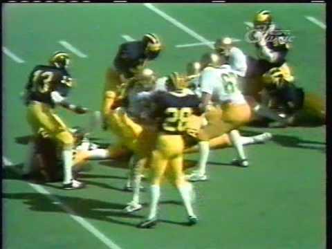 1979 Notre Dame at Michigan