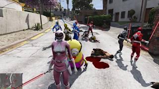 5 Anh em siêu nhân hợp thể phá vỡ lời nguyền 3 con Quỷ đỏ
