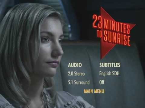 23 Minutes To Sunrise (2012) DVD Menu