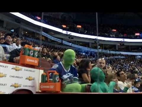 The Green Men of Vancouver Canucks