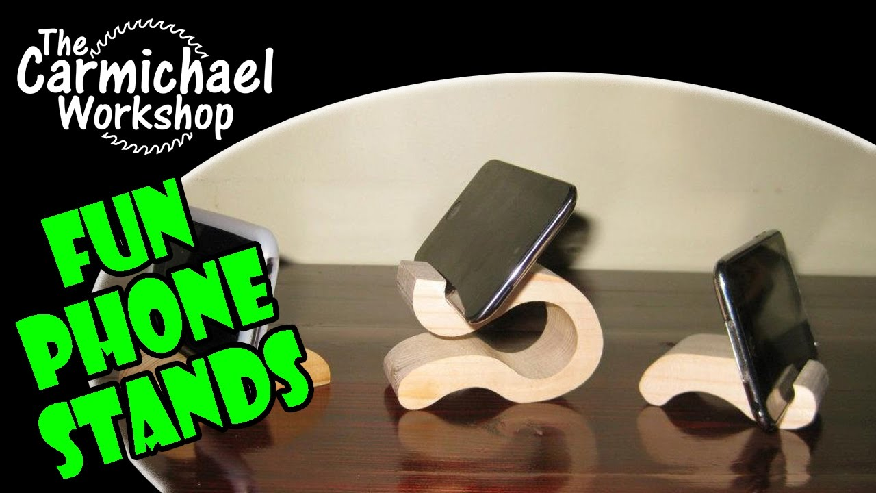 Make Wood Stands for iPods, iPhones, Phones, Tablets ...