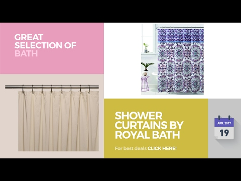 Shower Curtains By Royal Bath Great Selection Of Bath Products