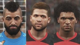 Новые лица игроков Фламенго в DLC 3.00