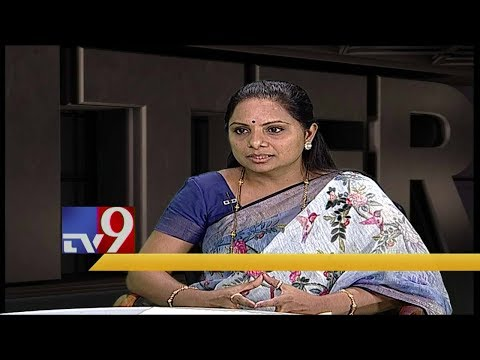 Murali Krishna Encounter with TRS MP Kavitha - TV9