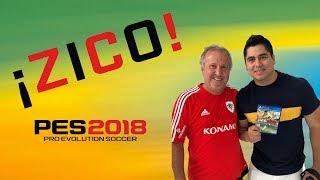 PES2018 En Brasil con Zico