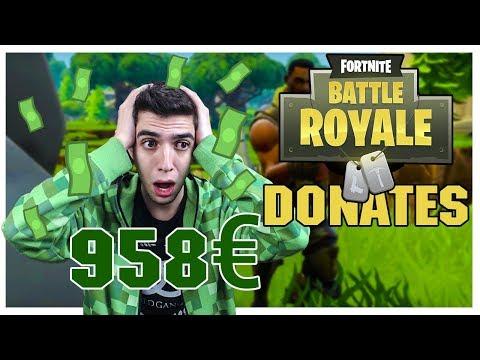 ΠΟΣΑ DONATES?! (Fortnite Battle Royale LIVE)
